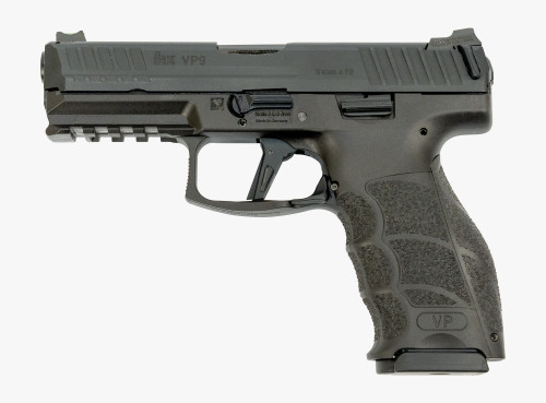 HK VP9 9mm LWG Custom, Black, 15rd