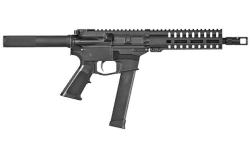 "CMMG Banshee 100 10mm, 8"" Barrel, Black, Glock Magazine, SV Brake, Threaded .578-28, M-Lok RML7 Handguard, A2 Grip, 30rd"