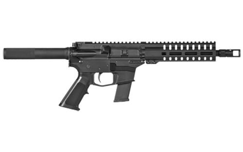 "CMMG Banshee 100 45 ACP, 8"" Barrel, Black, A2 Flash Hider, Threaded .578-28, M-Lok RML7 Handguard, A2 Grip, 13rd"
