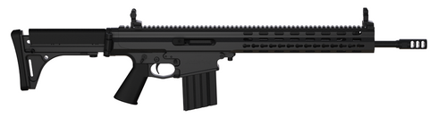 "Robinson Arms XCR-M Competition Rifle 308/7.62 16"" Barrel Keymod Rail, Black Finish, 30rd Mag"
