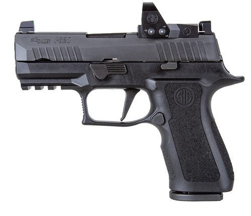 "Sig P320 RXP XCompact 9mm, 3.6"" Barrel, Night/Romeo1, Black, 2x 15rd"