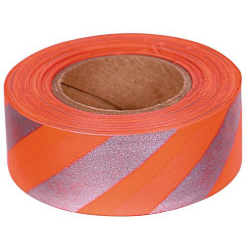 Allen Reflective Flagging Tape 1x150ft Orange