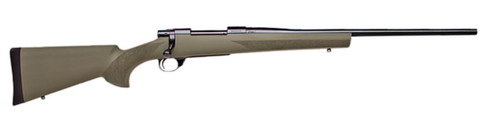 """Howa 1500 Hogue .300 Win Mag 24"""" Barrel, OD Green Houge Overmolded Stock, 3rd"""