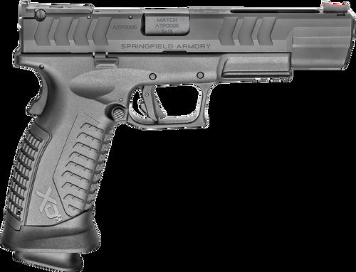 "Springfield XDM Elite Precision 9mm, 5.25"" Barrel, FO Front/Adj Target Rear, Black, 3x 22rd"