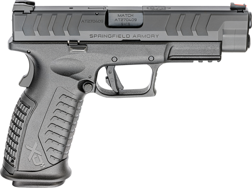 "Springfield XDM Elite Full Size 9mm, 4.5"" Barrel, FO Front Sight, Black, 2x 20rd"