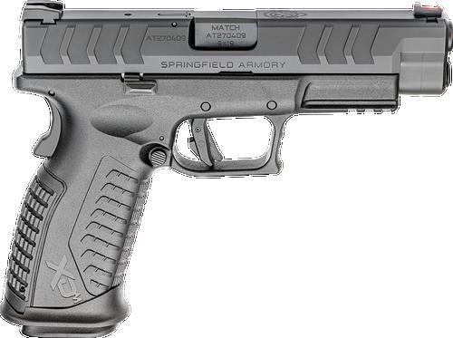 "Springfield XDM Elite Full Size 9mm, 4.5"" Barrel, FO Front Sight, Black, 2x 20rd"