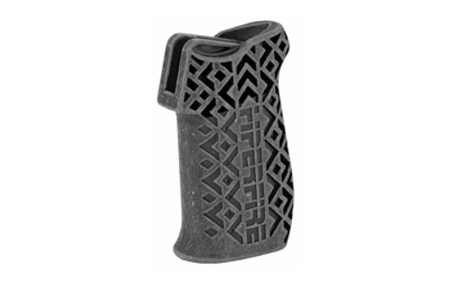 Hiperfire Hipergrip T, Texture Pistol Grip, Black, Grip Screw And Washer AR-15/AR-10, Ambi Safety/Selector Ready