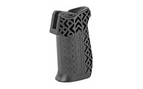 Hiperfire Hipergrip Pistol Grip, Smooth Texture, Black, Grip Screw And Washer Included AR-15/AR-10, Ambi Safety/Selector Ready