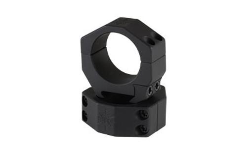 """Seekins Precision Scope Ring 1.0"""" High, 34mm, 4 Cap Screw, Black"""