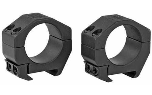 "Seekins Precision Scope Ring .82"" Low, 30mm, 4 Cap Screw, Black"
