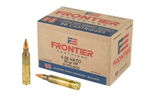 Hornady Lake City 5.56x45mm 55gr, Hollow Point Match, 50rd Box
