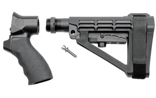 SB Tactical, TAC 13 Adapter With SBA4, Pistol Stabilizing Brace, Black, Adjustable Nylon Stabilizing Strap, 12 Gauge