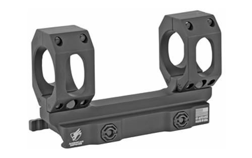 American Defense AD-RECON-S Scope Mount, 30MM, Quick Release, BlackFinish, Titanium Lever
