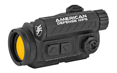 American Defense Spek Red Dot, Black, 2 MOA, T1 Lower Third Co-Witness Mount with Titanium Lever