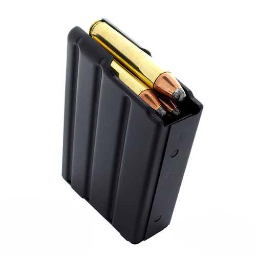 DURAMAG, DuraMag SS, Magazine, 350 Legend, 20Rd, Black, Stainless Steel, Fits AR, Orange AGF Follower