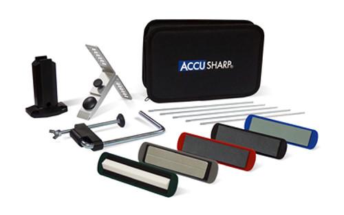 AccuSharp Knife Sharpener, 5 Stone Precision Sharpening Kit