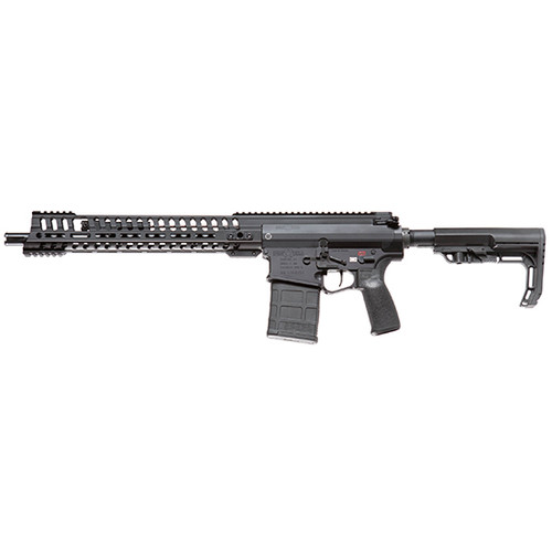 "POF P308 308 Win, 14.5"" Barrel Pinned and Welded, 11"" M-Lok Edge Rail, 5 Position, Piston System, Black Anodized"