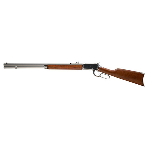 """Rossi R92 357 Mag, 24"""" Octagon Barrel, Brazilian Hardwood, Polished Stainless, 12rd"""