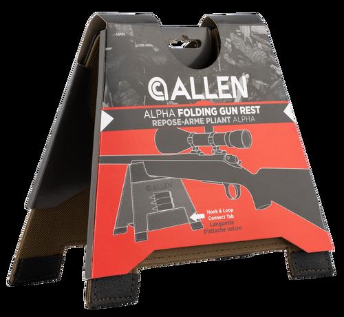 """Allen Allen, Alpha-Lite Folding Gun Rest, Tan, Size Medium 5.5"""" Tall, Slip Resistant Base, Lightweight"""