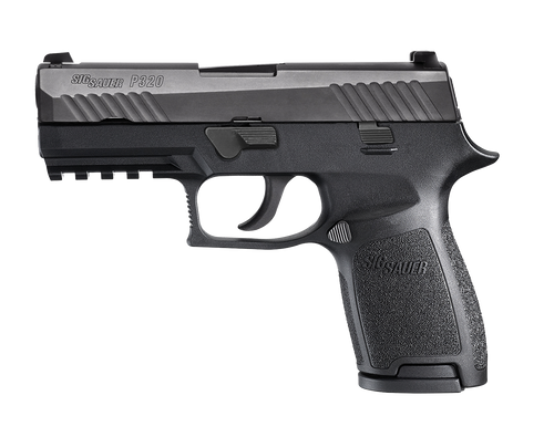 SIG P320 Carry Striker .357SIG 3.9 Barrel Siglite Night Sights Black Nitron Slide Finish 13rd