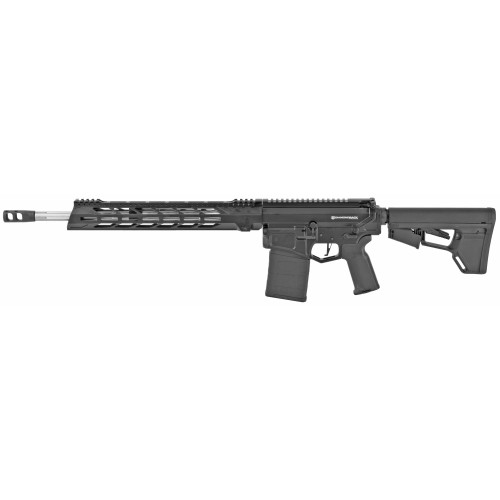 "Diamondback 308 Winchester, 18"" Stainless Steel Barrel, 15"" M-LOK Rail, Black, 20Rd PMAG"