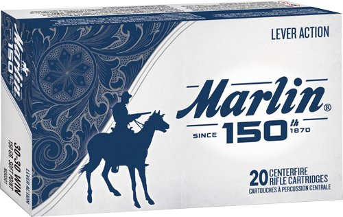 Marlin 150th Anniversary Ammunition 30-30 150gr, Soft Point 20rd Box