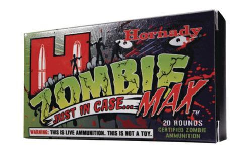 Hornady Zombie Max 308 168gr, 20rd Box