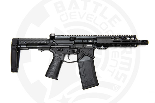 "Battle Arms Development Silent Professional .300 Blackout, 7.5"" Barrel, Tailhook Brace, Black, 30rd"