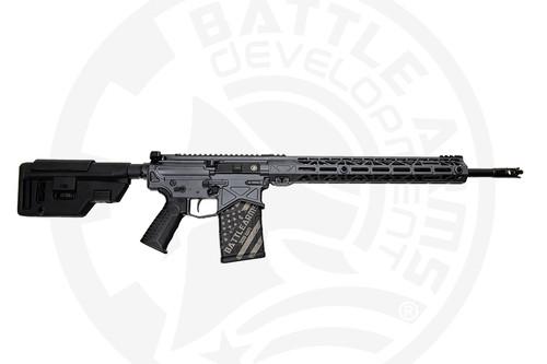 """Battle Arms Development XYSTON DMR .308 Win, 18"""" Barrel, Battlearms Grey, 20rd"""