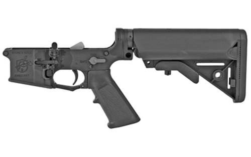 Knights Armament Company SR-30 Lower Receiver Assembly, AR-15 300 Blackout, Black Finish