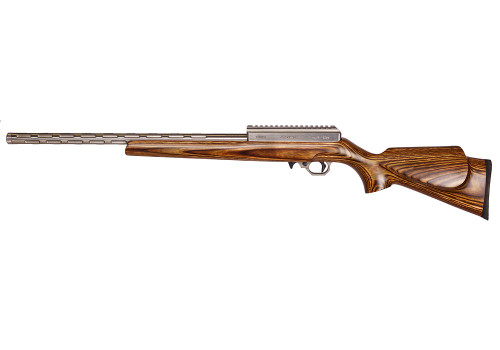 Volquartsen Summit .17 WSM, I-Fluted Barrel, 20 MOA, Brown Laminated Sporter Stock