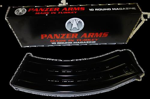 PW Arms AR-12 12 Ga Magazine, Black Steel, 10rd