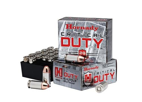 Hornady Critical Duty 45 ACP 220gr, Flexlock, 20rd Box