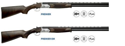 """F.A.I.R. Premier EM 20 Ga, 28"""" Barrel, 3 TC (Xp50) Chokes, Ejectors/Single Selective Trigger"""