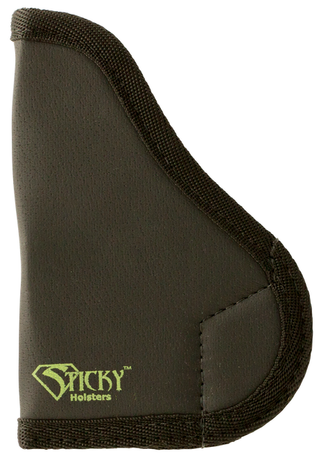 Sticky Holsters SM-1 NAA Black Widow Latex Free Synthetic Rubber Black Green Logo