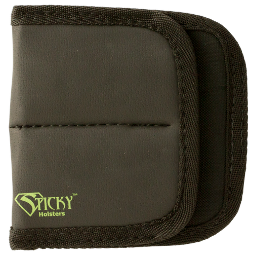 Sticky Holsters Dual Mag Pouch Latex Free Synthetic Rubber Black