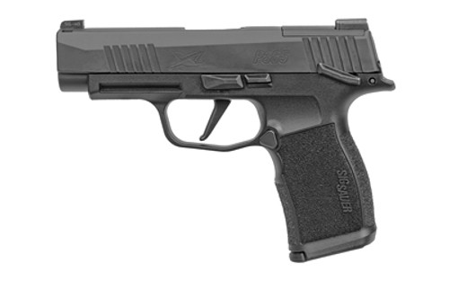 "Sig P365 XL Optics Ready Slide 9mm, 3.7"" Barrel, X-Ray 3, Manual Safety, Black, 12rd"