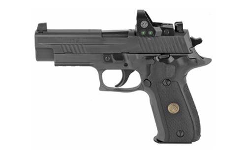 "Sig P226 Full-Size Legion RXP 9mm, 4.4"" Barrel, ROMEO1, Night Sights, Legion Gray, 15rd"