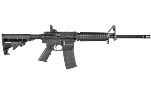 "Smith & Wesson M&P 15 Sport II AR-15, 556/223, 16"" Barrel, Black, 6 Position Collapsible Stock, ""We The People"" Laser Engraved, 1:9, 30rd Mag"