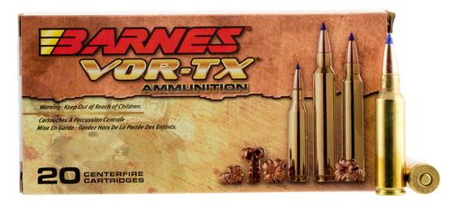 Barnes VOR-TX Rifle 300 WSM 150gr, Tipped TSX Boat Tail, 20rd Box