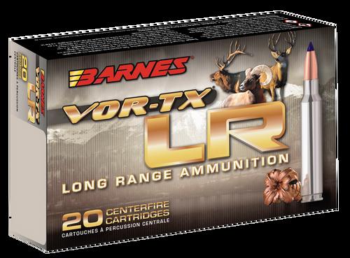 Barnes VOR-TX LR Rifle 6mm Creedmoor 95gr, LRX Boat Tail, 20rd Box