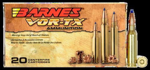 Barnes VOR-TX Rifle 260 Remington 120gr, Tipped TSX Boat Tail, 20rd Box