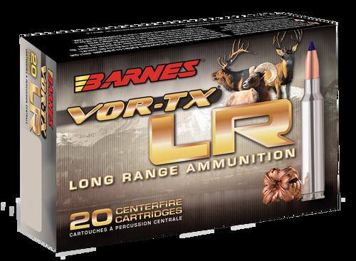 Barnes VOR-TX LR Rifle 300 RUM 190gr, LRX Boat Tail, 20rd Box