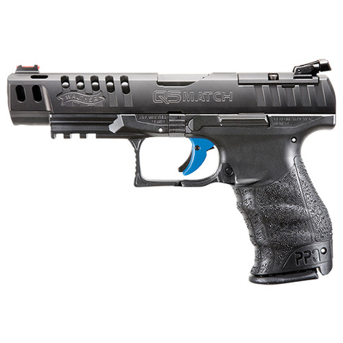 "Walther PPQ Classic Q5 Match Striker Fired, Full Size, 9mm, 5"" Barrel, 15rd Mag"