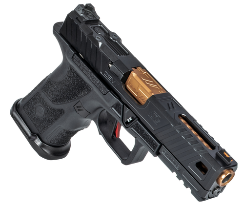 "ZEV Technologies O.Z-9 Compact, Covert 9mm, 4.5"" Bronze Barrel, Steel Frame, Polymer Grip, Black, 15rd"