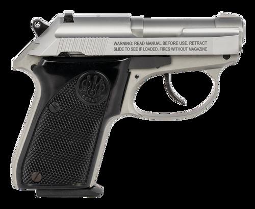"""Beretta 3032 Tomcat Inox (CA Compliant) .32 ACP 2.4"""" Barrel, Black Grips, 7 Rd Mag"""
