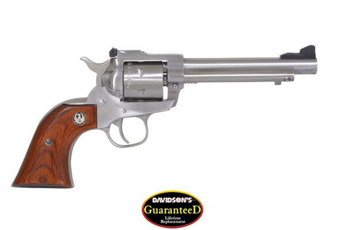 "Ruger Single Six Revolver 17 HMR 5.5"" Barrel SS Finish Rosewood Grips"
