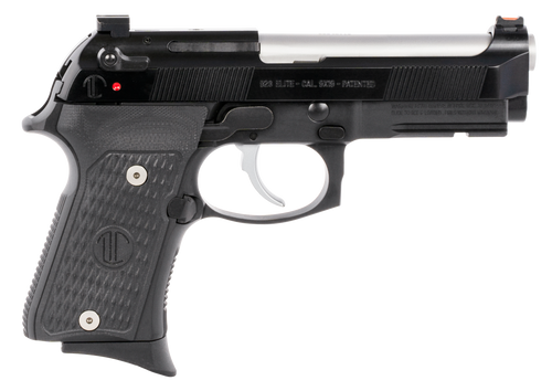 "Beretta 92G Elite LTT Compact 9mm 4.25"" Barrel 10rd Mag, Black Synthetic Grip"