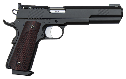 "Dan Wesson Bruin 1911 10mm Auto 6.03"",  Black Duty Finish Stainless Steel Brown G10 Grip,  8 rd"