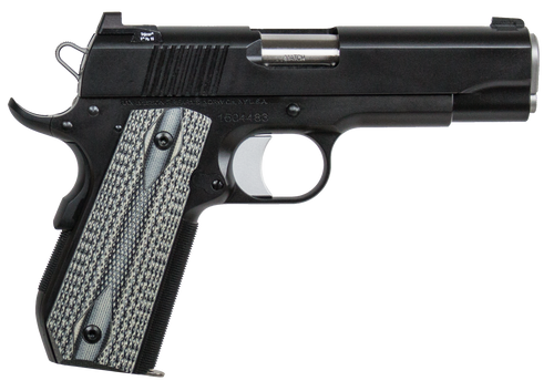"Dan Wesson Valor V-Bob 1911 45 ACP 4.25"" Barrel Black Duty Finish Stainless Steel Black Polymer Grip. 8rd Mag"
